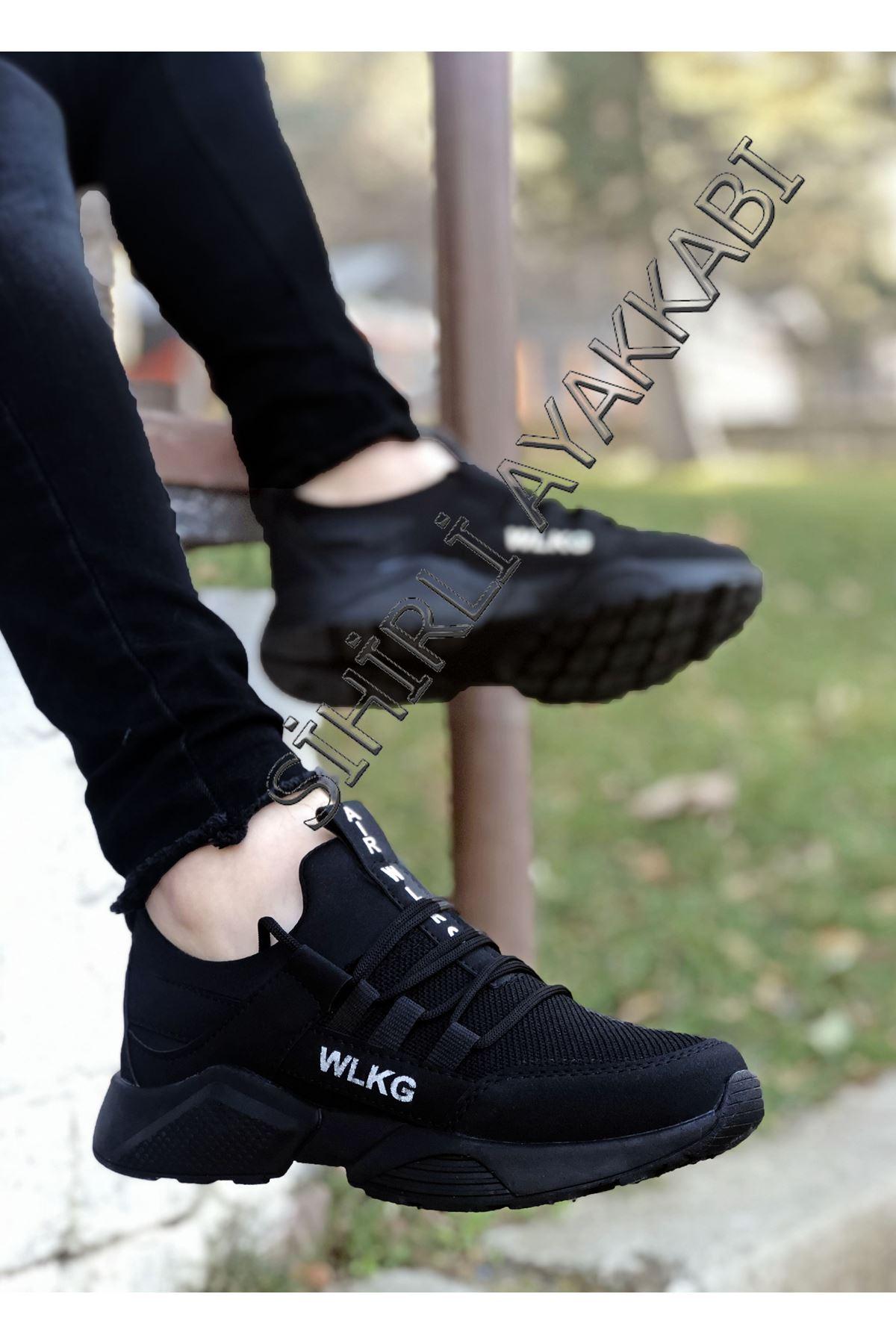 Boy Uzatan Siyah File AirPro Erkek Spor Ayakkabı
